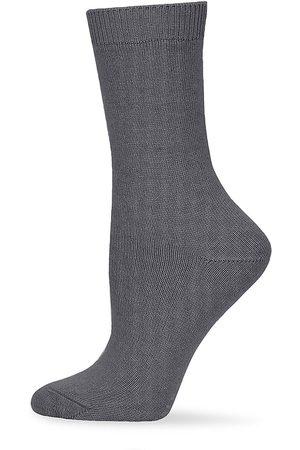Falke Women's Cosy Wool Socks - Grey - Size 8