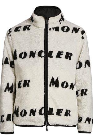 Moncler Men's Maglia Zip-Front Logo Cardigan - - Size XXL