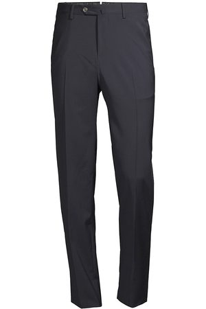 PT01 Men's Slim-Fit Traveler Wool Trousers - - Size 58 (42)