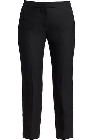 Alexander McQueen Women's Cropped Cigarette Trousers - - Size 34 (2)