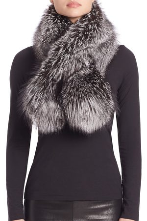 The Fur Salon Women's Fox Fur Stole