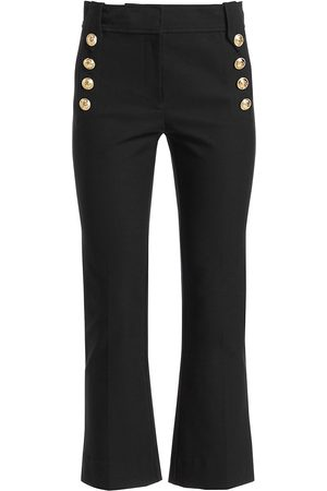 Derek Lam Women's Robertson Crop Flare Pants - - Size 10