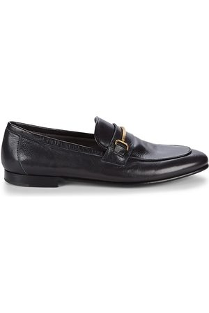 ALFRED DUNHILL Men's Chiltern Roller Bar Leather Loafers - - Size 45 (12)