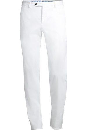 PT01 Men's Slim-Fit Flat Front Cotton Trousers - - Size 54 (44)