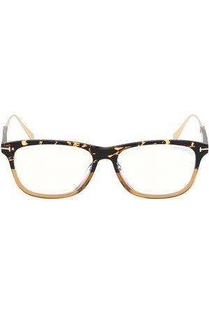 Tom Ford Men's Blue Block 55MM Square Glasses