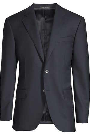 corneliani Men's Classic-Fit Basic Wool Blazer - - Size 60 (50) L