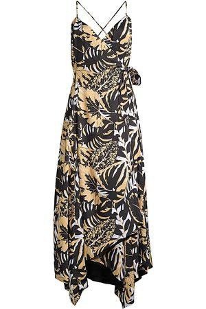 Azulu Women's Luanda Safari Wrap Dress - - Size 8