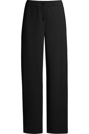 Eileen Fisher Women's Travel Ponte Straight Pants - - Size Medium