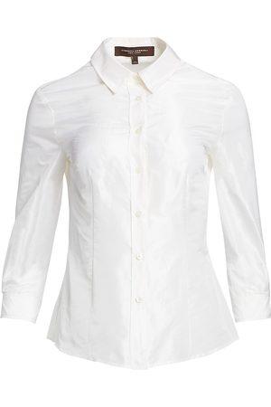 Carolina Herrera Women's Signature Taffeta Blouse - - Size 12