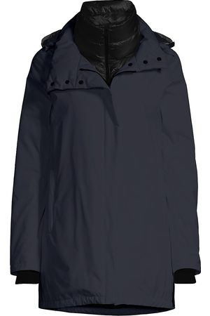 HERNO Women's Goretex Two-Ply A-Line Waterproof Windbreaker - - Size 38 (2)