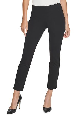 Donna Karan Women's Ponte Knit Cropped Pants - - Size XS