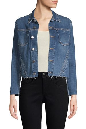 L'Agence Women's Janelle Denim Jacket - - Size Medium