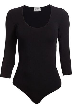 Wolford Women's Tokio Solid Bodysuit - - Size XS