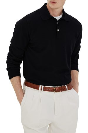Brunello Cucinelli Men's 2-Ply Cashmere Polo - - Size 58 (48)