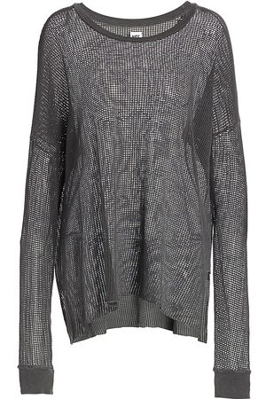 NSF Women's Monty Cotton Mesh Sweater - - Size Large