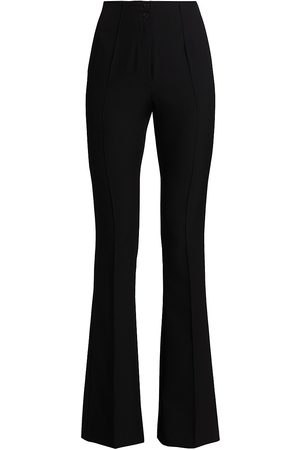 ATM Anthony Thomas Melillo Women's Stretch High-Rise Flared Pants - - Size 10