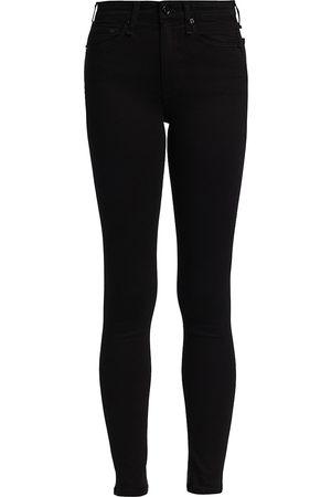 RAG&BONE Women's Nina High-Rise Skinny Jeans - - Size 32 (12)