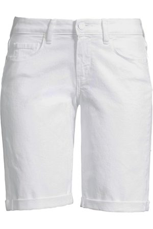 Paige Women's Jax Roll Cuff Denim Bermuda Shorts - - Size 26 (2-4)