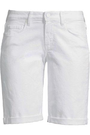 Paige Women's Jax Roll Cuff Denim Bermuda Shorts - - Size 26 (2-4)
