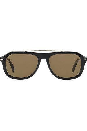 David beckham Men's 54MM Aviator Sunglasses