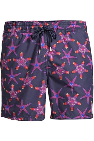 Vilebrequin Men's Moorea Starfish Print Swim Trunks - - Size XXXL