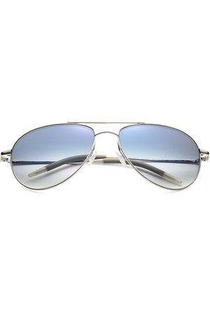Oliver Peoples Men's Benedict 59MM Metal Aviator Sunglasses