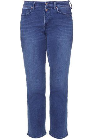 NYDJ Women's Marilyn Mid-Rise Straight Leg Ankle Jeans - - Size 14