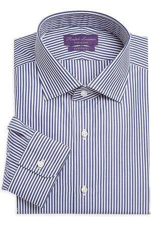 Ralph Lauren Men's Aston Striped Tailored Long-Sleeve Dress Shirt - - Size 17