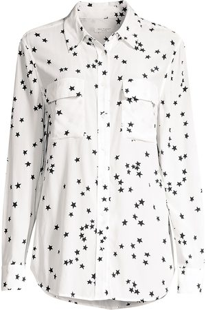 Equipment Women's Starry Night Slim Signature Shirt - - Size Medium