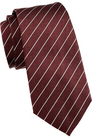 Armani Men's Striped Silk Tie