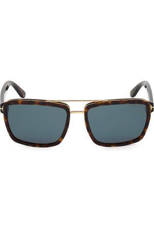 Tom Ford Men's 58MM Plastic Square Sunglasses
