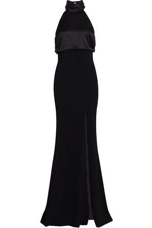 Cinq A Sept Women's Alexandra Turtleneck Halter Gown - - Size 14