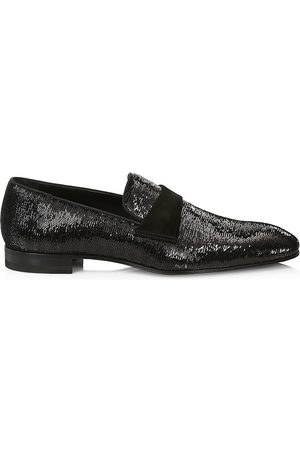 Paul Stuart Men's Heron Sequin Formal Loafers - - Size 13
