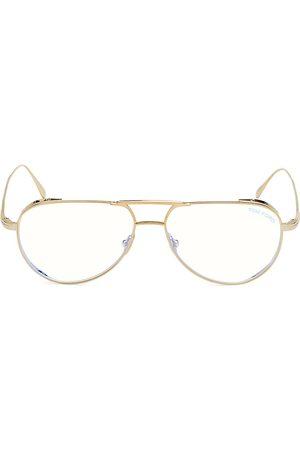 Tom Ford Men Sunglasses - Men's 56MM Titanium Filter Optical Glasses - Shiny Rose