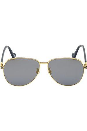 Moncler Men's 63MM Aviator Sunglasses