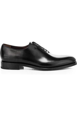Salvatore Ferragamo Men's Angiolo Lace-Up Leather Dress Shoes - - Size 10 E