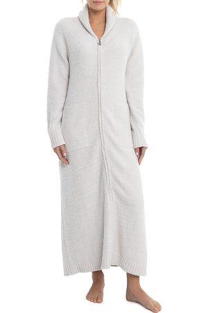 Barefoot Dreams Women Bathrobes - Women's The CozyChic Zip Robe - Almond - Size Large