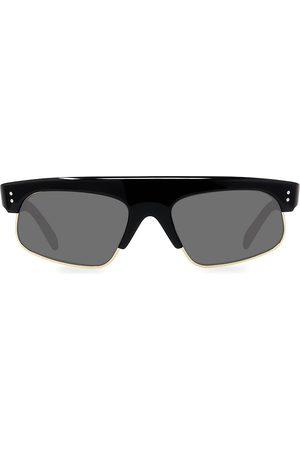 Céline Men's 60MM Smoke Rectangle Lens Sunglasses