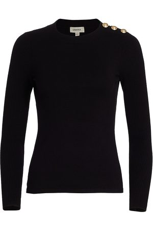 L'Agence Women's Erica Pullover Sweater - - Size Large