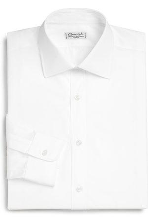 Charvet Men's Regular-Fit Cotton Dress Shirt - - Size 18 L