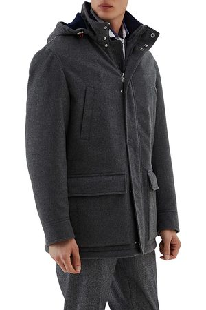 Brunello Cucinelli Men's Beaver Cashmere Coat - - Size 60 (50)