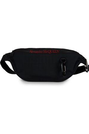 Alexander McQueen Men's Canvas Logo Belt Bag