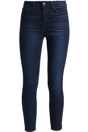 L'Agence Women's Margot High-Rise Ankle Skinny Jeans - - Size 30 (8-10)