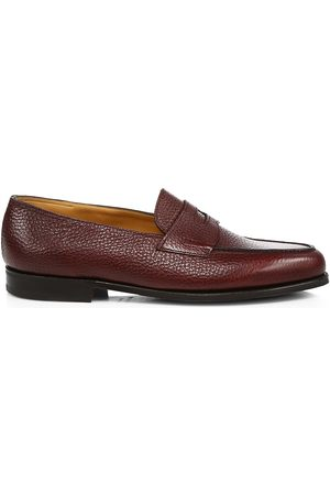 JOHN LOBB Men's Lopez Grain Leather Loafers - - Size 9 UK (10 US)