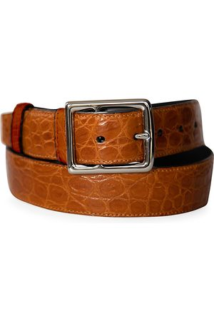 Grace Men's Genuine Crocodile Buckle Belt - - Size 48