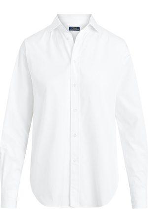 Polo Ralph Lauren Women Shirts - Women's Straight Button-Up Shirt - - Size 6