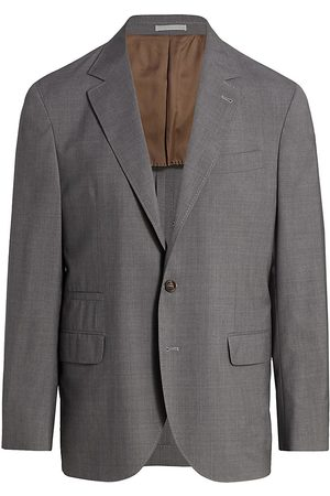 Brunello Cucinelli Men's Wool & Silk Travel Blazer - - Size 60 (50)
