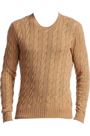 Ralph Lauren Men Sweaters - Men's Cableknit Cashmere Sweater - - Size Small