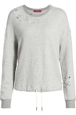 N:philanthropy Women's Olympia Distressed Sweatshirt - - Size Small