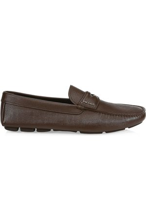 Prada Men's Leather Penny Driving Loafers - - Size 12 UK (13 US)